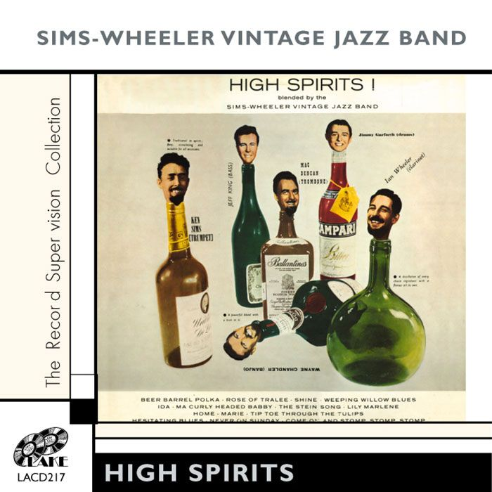 SIMS-WHEELER VINTAGE JAZZ BAND – HIGH SPIRITS