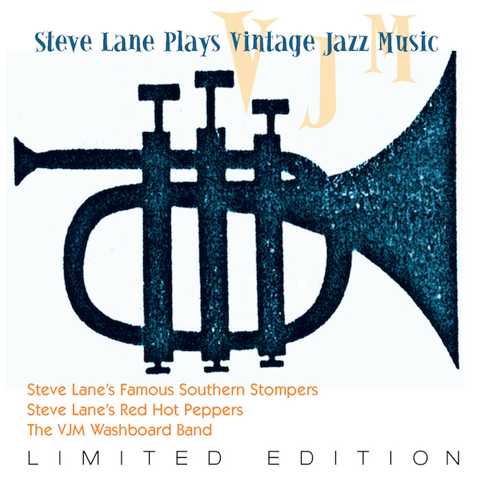 STEVE LANE PLAYS VINTAGE JAZZ MUSIC LACD357